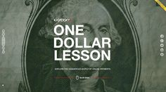 One Dollar Lesson