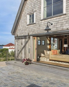 Block Island Barn Renovation by Taylor Interior Design