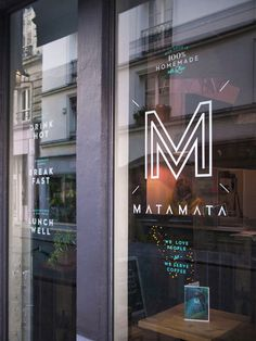 Matamata #menu #identity #food #window #france