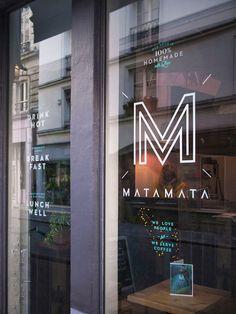 Matamata #menu #identity #food #window #france