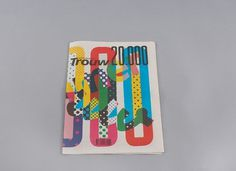 Niessen & de Vries – Work #graphic design #cover #newspaper #trouw
