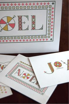 West end girl #prints #card #christmas #type #typography