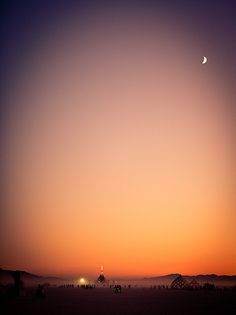 Gradient #sky #photography #colors #manipulation #gradient #moon