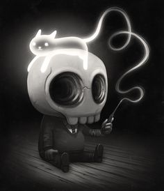 Mike Mitchell's Tumblr of Amazing Things., Expecto Patronawwwwhhh! I wanted to do a Harry... #skully