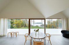 tham and videgard summer house lagno designboom00 #home