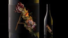 Andevine Co Partnership #packaging #label #wine #bottle