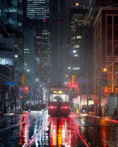 Cinematic and Moody Urban Photography by Mateo Wieland