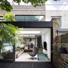 Extrarchitecture Renovates 1840s Brick Cottage in London