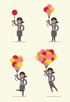 Up! - Parko Polo #illustration #human #people #character