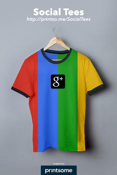 #Google #plus #social #tshirt #clothing #design