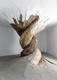 Installation Art by Henrique Oliveira #installation #art #installation art