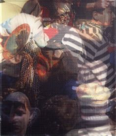 christoffer joergensen, abstract, faces, art, fine art, color, bold