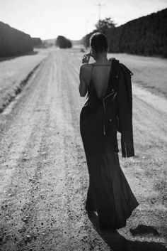 woman, dress, photo