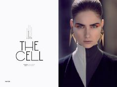 The Cell | Volt Café | by Volt Magazine #beauty #design #graphic #volt #jewellery #photography #art #fashion #layout #magazine #typography
