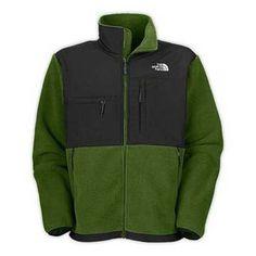 North Face Denali Fleece Jacket Conifer Green-Mens #fashion