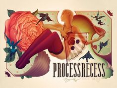 James Jean | PR Limited Edition Poster #recess #process #james #painting #jean
