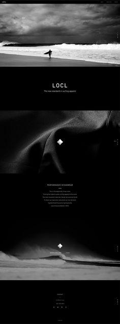 Locl by High Tide #web design #site #website