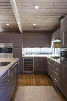 kitchen, Klopf Architecture