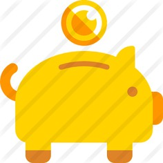 See more icon inspiration related to cash, bank, piggy bank, business, savings and banking on Flaticon.