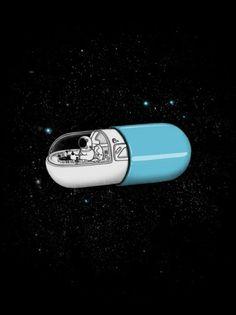 Space Capsule | Society6