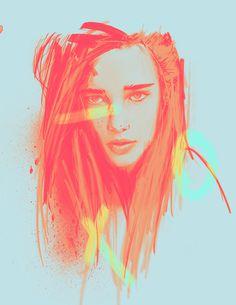H A L T E R E N - Rosco Flevo #robin van halteren #model #fashion #amsterdamn #xoxo #postartfuckery #colors #flourescent #roscoflevo #art