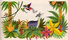 firesidebookoffolksongs8 #illustration #vintage #childrens books