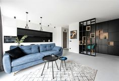 Stylish Apartment For a Young Man by In Caprice - InteriorZine #decor #interior #home