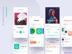 Spotify visual concept – Sneak peek by Matteo Pasuto