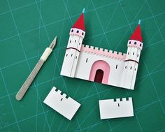 Intricately-Crafted Cut Paper Illustrations by Owen Gildersleeve #illustration #cut out #paper #craft #design #art #scalpel #castle