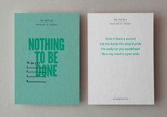 design work life » Kerr Vernon: That's Impressive Print Promotion #green #print #color #postcards #pastel