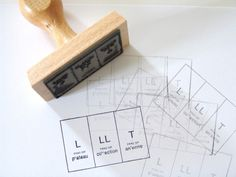 Have a Nice Day #grid #stamp