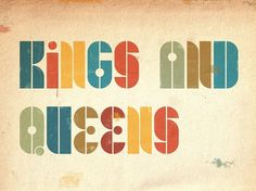 CUSTOM LETTERS, BEST OF 2010 DAY 2 — LetterCult #kings #queens #and #type #typography