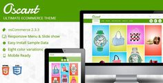 Oscart - Responsive oscommerce Template #oscommerce #site #responsive #clean #theme #skin #mobile #template #ready