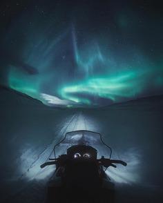 Magical Northern Lights Landscapes by Juuso Hämäläinen