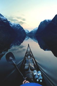 Lifestyle of the Unemployed #nature #mountain #water #kayak