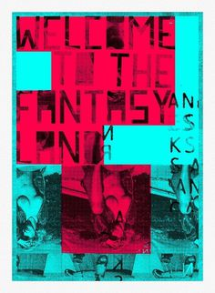 Fantasy Land | Flickr - Photo Sharing! #silkscreen #design #graphic #illustration #poster