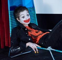 Supplement Magazine Spring Summer 2017 Lera Abova by Mariano Vivanco - Fashion Editorials clown makeup