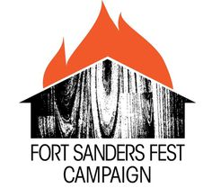 Fort Sanders Music Festival #typography #music #festival #fort sanders fest