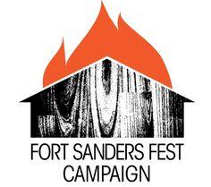 Fort Sanders Music Festival #festival #fest #sanders #fort #music #typography
