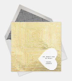 Paperless Post Valentines / on Design Work Life #card #design #graphic