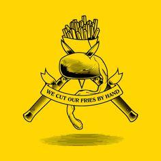 Brand Identity of Manhattn's Burgers by Pinkeye