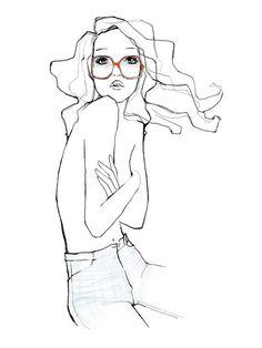 Illustration by Garance Doré #fashion #illustration #hair #awesome