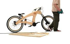 SAWYER – LOWRIDE WOODEN BIKE #wood #bike