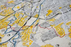 Edinburgh survey map (detail) #map