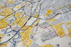 Edinburgh survey map (detail)