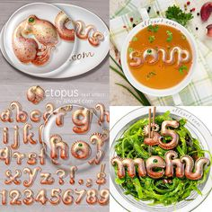 Learn how to create 3d octopus text effect. This Adobe Photoshop tutorial teaches how to apply octopus skin texture and light reflections to #font #text #letters #file #menu #psd #effect #food #restaurant #octopus #sea #seafood #animal #alphabet #tentacles #dishes #3d