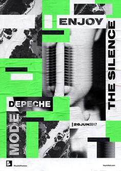 Playlist-posters // Depeche Mode – Enjoy the Silence