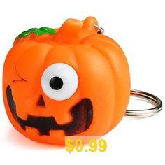 Pretty #Pumpkin #Pattern #Keychain #- #COLORMIX