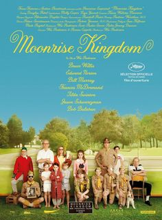 Moonrise Kingdom | Jessica Hische #wes #moonrise #anderson #kingdom
