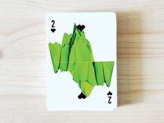 AO MATU design playing cards by Nastya KFKS. 3d islands on number of cards. #tropical #cards #graphic #playing #design #illustration #characters